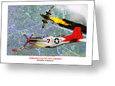 Chronicles Of The Airmen - Mission To Berlin Greeting Card by Jerry Taliaferro