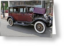 Chrysler 1926 Greeting Card