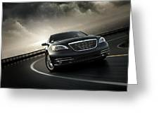 Chrysler 200 Greeting Card