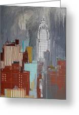 Chrysler Building, New York Greeting Card