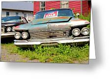 Chrysler Imperials Greeting Card