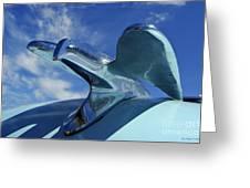 Chrysler Of Old Greeting Card