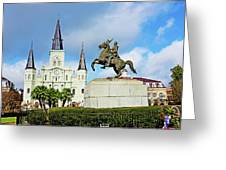 Church And State Greeting Card