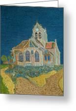 Church At Auvers Greeting Card