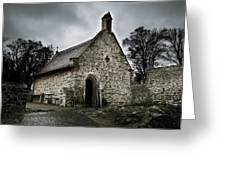 Church At Castle Frankenstein Greeting Card