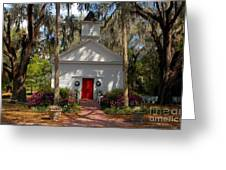Church At Micanopy Greeting Card