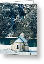 Church By The Achensee Greeting Card