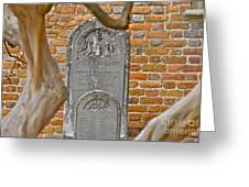 Church Cemetery Greeting Card