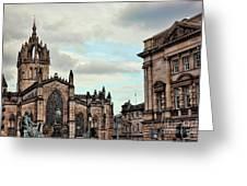 Church Edinburgh II Greeting Card