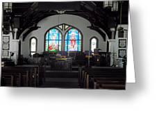Church - Grand Caymans Greeting Card