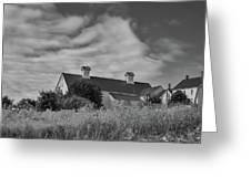 Church Hill Road Barn Greeting Card