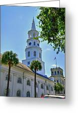 Church In Charleston Greeting Card