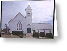 Church In Damascus Maryland Greeting Card