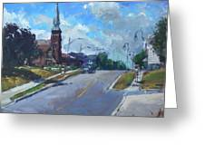 Church In Georgetown Downtown  Greeting Card