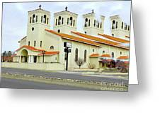 Church In New Mexico Multiplied Greeting Card