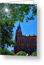 Church In Sc Greeting Card