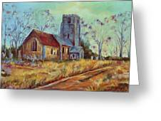 Church In Suffolk  Greeting Card