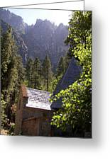 Church In The Wilderness-yosemite Greeting Card