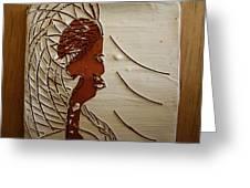 Church Lady 7 - Tile Greeting Card
