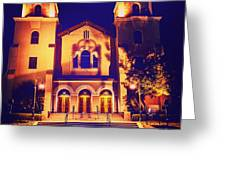 Church Night Greeting Card