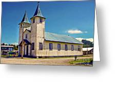 Church Of Chacao Greeting Card