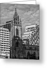 Church Of Our Lady And Saint Nicholas Liverpool Greeting Card