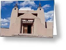 Church Of San Jose De Garcia, Las Greeting Card