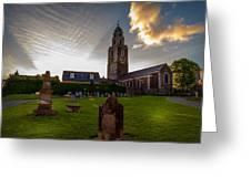 Church Of St Anne Greeting Card