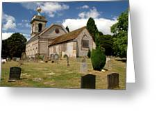 Church Of St. Lawrence West Wycombe 3 Greeting Card