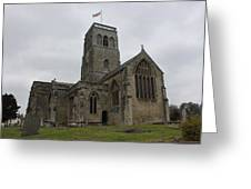 Church Of St. Mary's - Wedmore Greeting Card