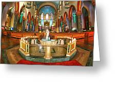 Church Of St. Paul The Apostle Greeting Card