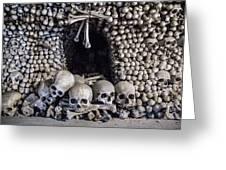 Church Of The Bones Greeting Card