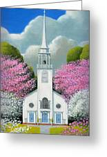 Church Of The Dogwoods Greeting Card