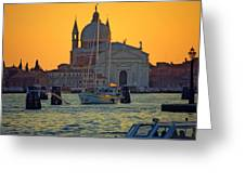Church Of The Redentore In Venice Greeting Card