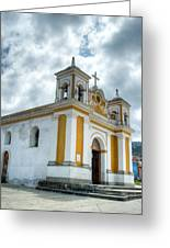 Church Of The Transfiguration Quetzaltenango Guatemala 5 Greeting Card