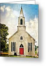 Church On 8 Greeting Card