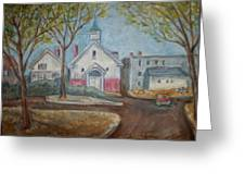 Church On Stone St. Greeting Card
