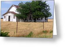 Church On The Grasslands  Greeting Card