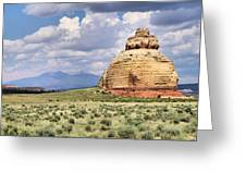 Church Rock 3 Greeting Card