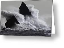 Church Rock Explosion Greeting Card