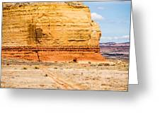 Church Rock Us Highway 163 191 In Utah East Of Canyonlands Natio Greeting Card