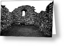 Church Ruins Hvalsey Greeting Card