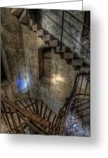 Church Stairs Above Greeting Card