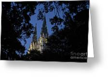 Church Steeples Greeting Card