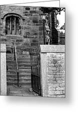 Church Steps Greeting Card