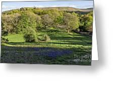 Church Stretton Landscape Greeting Card