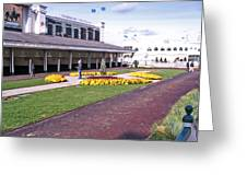 Churchill Downs Paddock Area Greeting Card