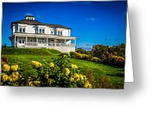 Churchill Mansion Inn Greeting Card