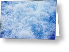 Churning Water Greeting Card