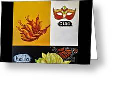 Ciao Means Hello Greeting Card